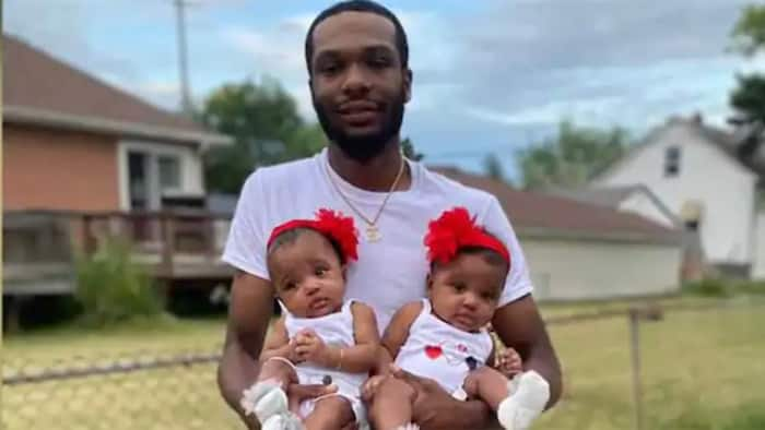 Well wishers raise funds for man who rushed into fire to save twin daughters