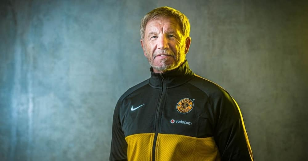 Kaizer Chiefs coach Stuart Baxter has issued an apology for the derogatory comments he made in India. Image: @kaizerChiefs/Twitter
