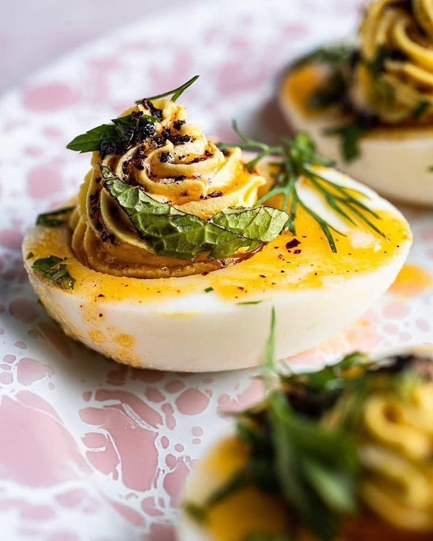devilled eggs keto