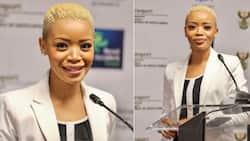 Fikile Mbalula's stunning spokeswoman Ayanda Allie Paine steps down and Mzansi reacts