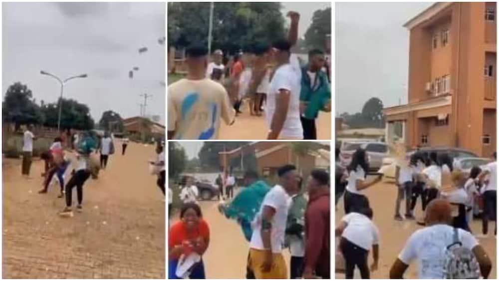 People, React, Students, Money, Nigeria