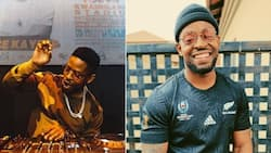 Prince Kaybee snaps sizzling pic but Mzansi wants to see his 'moneymaker'