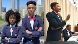 1st Black girl & youngest black boy win Harvard debate in style