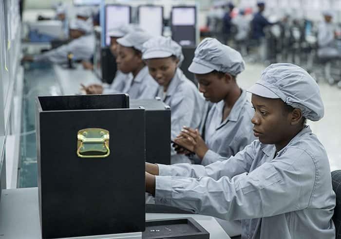 President Kagame launches smartphone factory in Rwanda