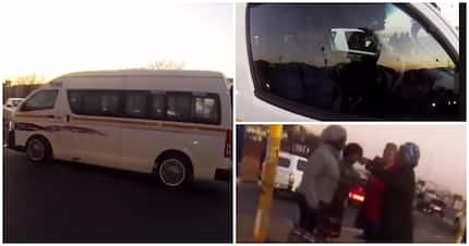 Video: Taxi runs red light, causes another accident and even the passengers are fed up
