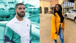 Woman gifted R353k scholarship by Drake in 'God's Plan' graduates with Master's