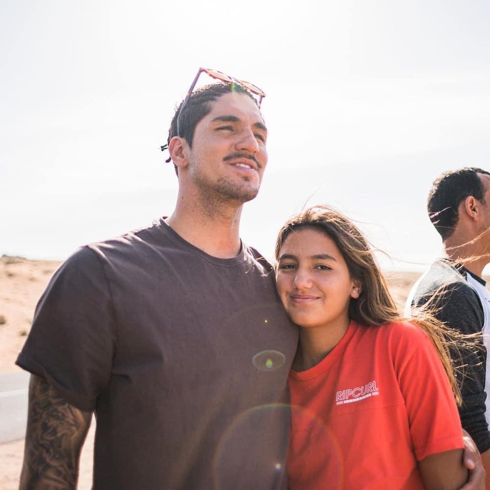 Gabriel Medina's family