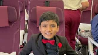 Da Vinci Institute in Gautengset to honour the world's youngest professor, 9 year old Soborno Isaac Bari