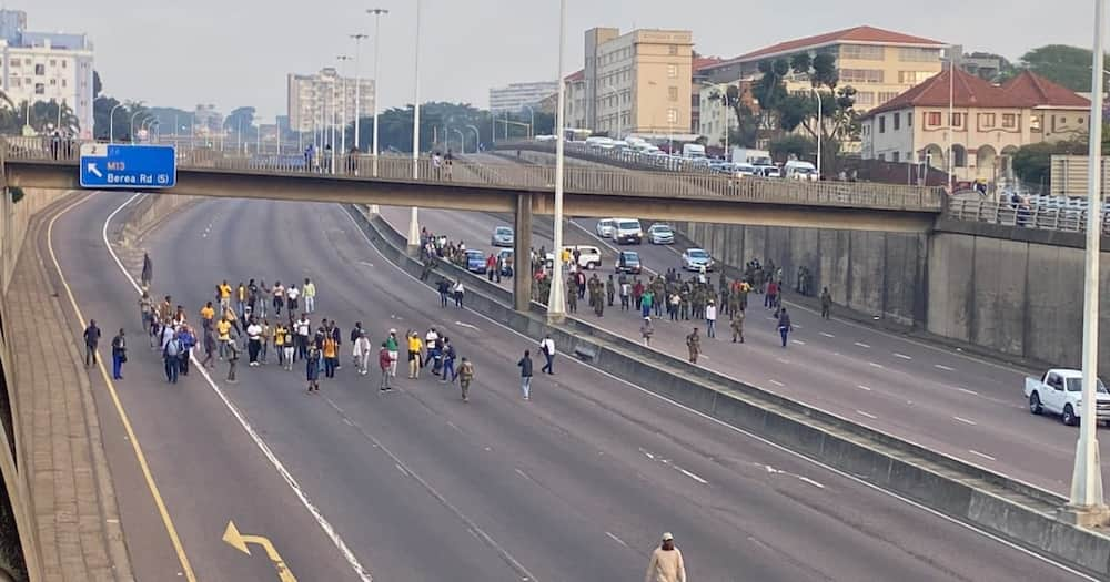MK Veterans protest: Outrage at the ANC prompts Durban shutdown