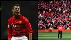 Cristiano Ronaldo Reacts to Raphael Varane's Unveiling at Old Trafford