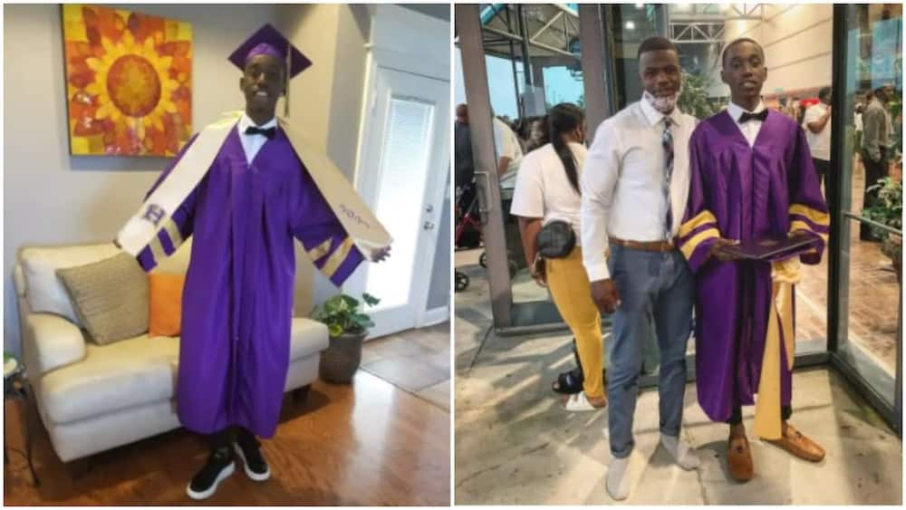 School stop young man from graduation ceremoney because he wore the wrong shoe