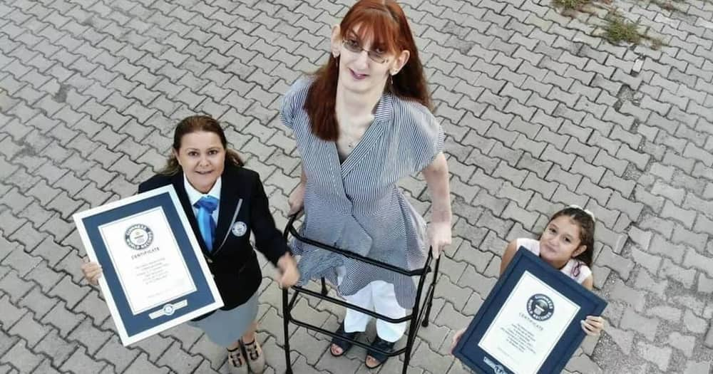 Rumeysa Gelgi is the World's Tallest Living Woman.