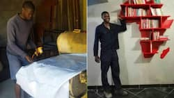 Big ups: Meet Mr Mooka, from working in the sun to building his own workshop