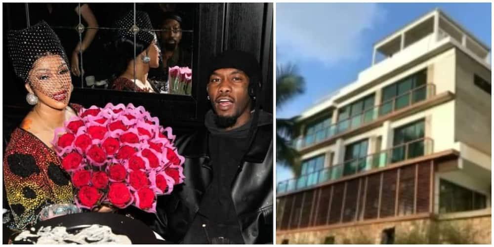 Cardi B, Offset, mansion, Dominican Republic, gift, birthday