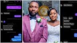 Lady shoots her shot on Facebook and marries crush, shares screenshots chats