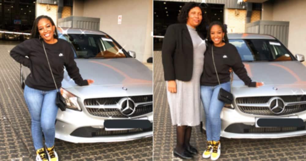 Woman, New Car, Mercedes Benz, Twitter reactions