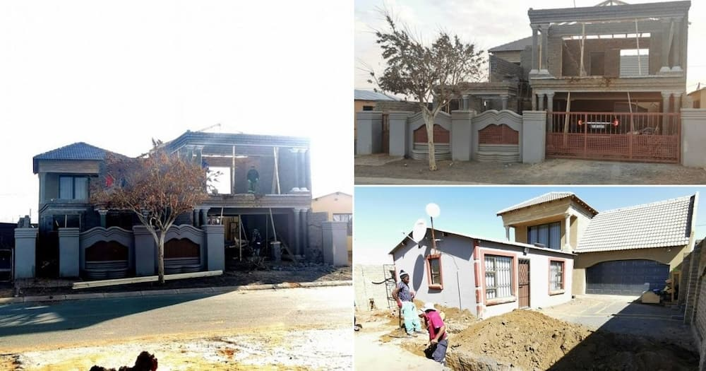 Couple builds own house in township after bank rejects home loan