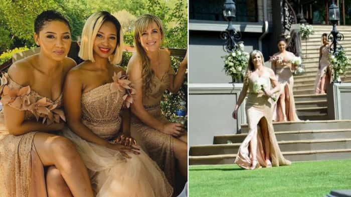 Jo-Anne Reyneke & other Isidingo actresses make stunning bridesmaids