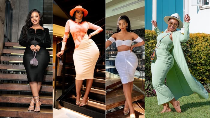 Top 20 curvy and amorphous South African celebrities