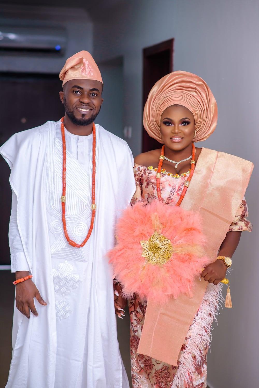 Yoruba marriage attire
