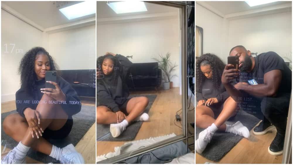 Nigerian Man Builds Smart Mirror for Girlfriend That Displays Bible Scriptures, Tells Her She's Beautiful