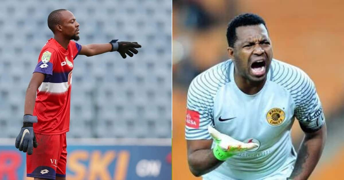 VUT goalkeeper says he's better than Chiefs' keepers, Khune responds - Briefly.co.za