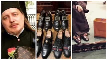 Priest to face disciplinary committee after posting his Louis Vuitton bags and Gucci shoes online