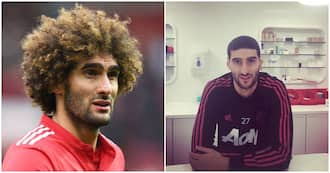 Fans were shook as Man United's Marouane Fellaini shaved his afro
