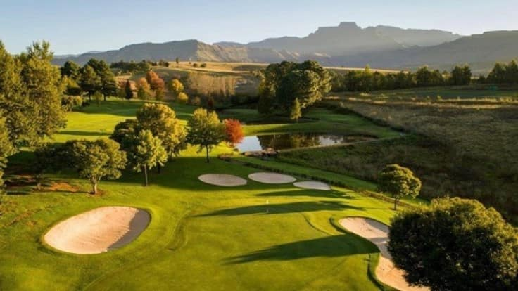 Links golf courses in South Africa
