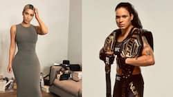 "Kim Kardashian challenged to a fight by UFC champion Amanda Nunes: ""Let's do it"""