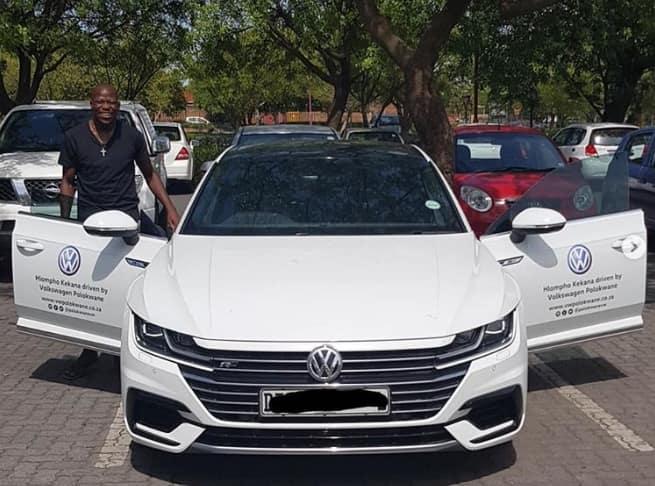 Hlompho Kekana car, house and Instagram