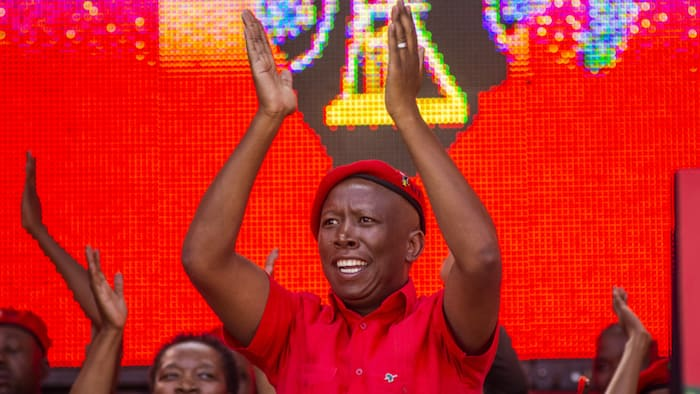 EFF's Julius Malema campaigns in the Free State, encourages land grabbing, promises to fight crime