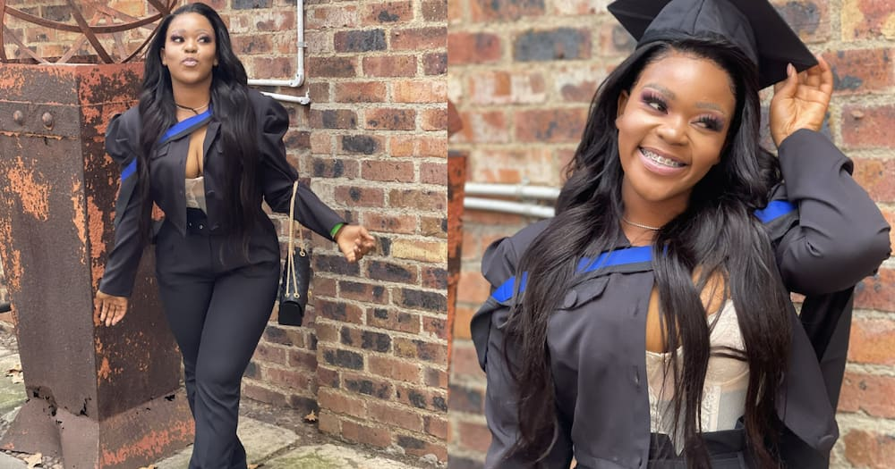 """""""Onwards and Upwards"""": Young Lady Graduates in Style, Mzansi Loves It"""