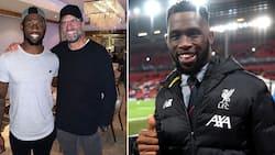 Liverpool posts video of a happy Bok captain Siya Kolisi at Anflied