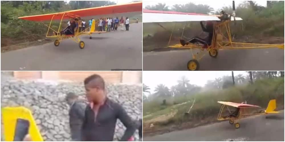 Nigerian teen built single-seater aircraft, 2-seater sea boat before turning 18