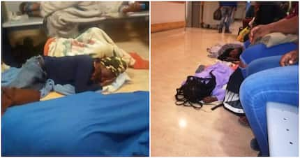 Twitter left shook over photos of Khayelitsha patients sleeping on hospital floor