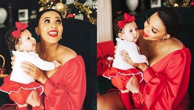 Linda Mtoba baby