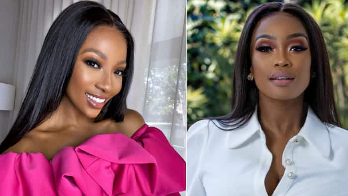 8 Pics: Pearl Modiadie and Lorna Maseko living it up in Camps Bay