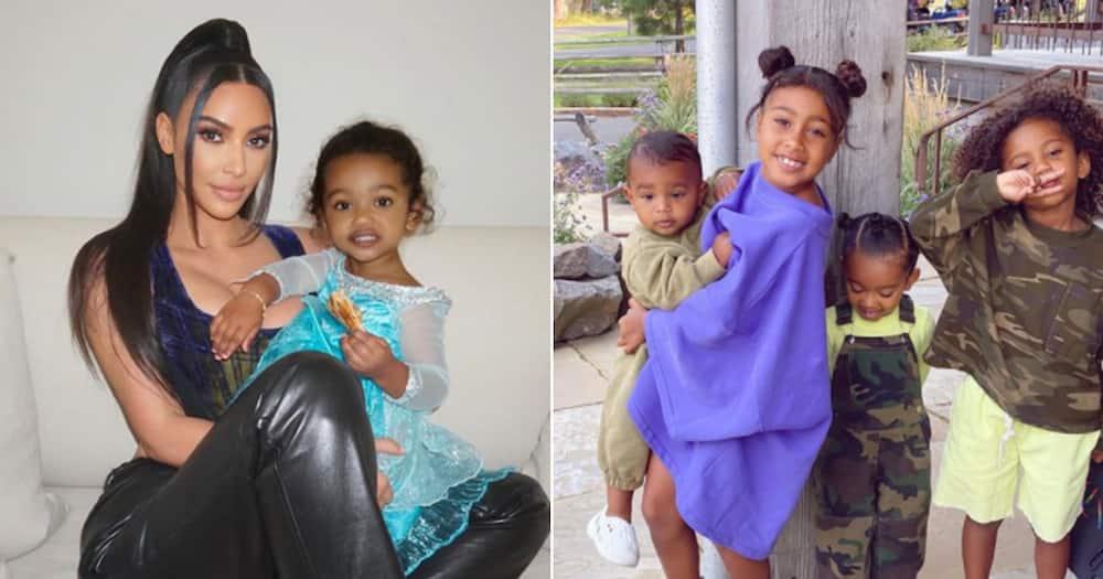 Kim Kardashian West and her babies test positive for the coronavirus
