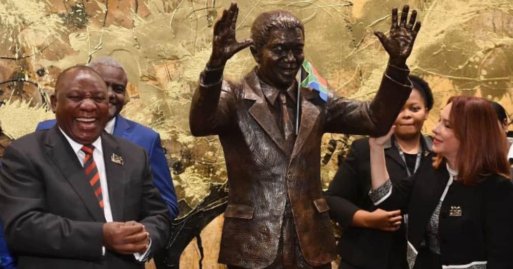 """What's Wrong With Cyril?"": Ramaphosa's 'Madiba Shirt' Thrown Major Shade Online"