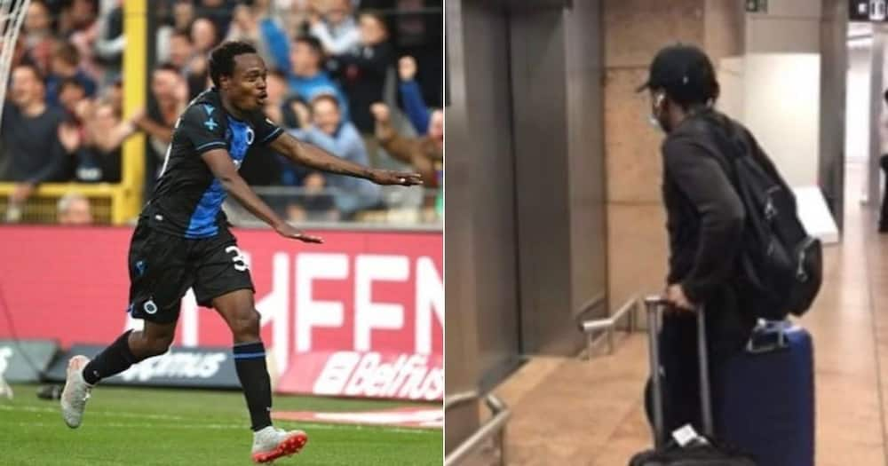 Bafana Bafana star Percy Tau touches in Belgium to join Anderlecht