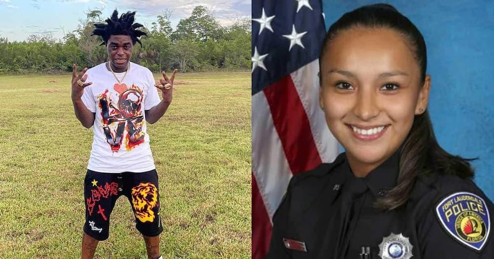 Kodak Black and late police officer Jennifer Sepot