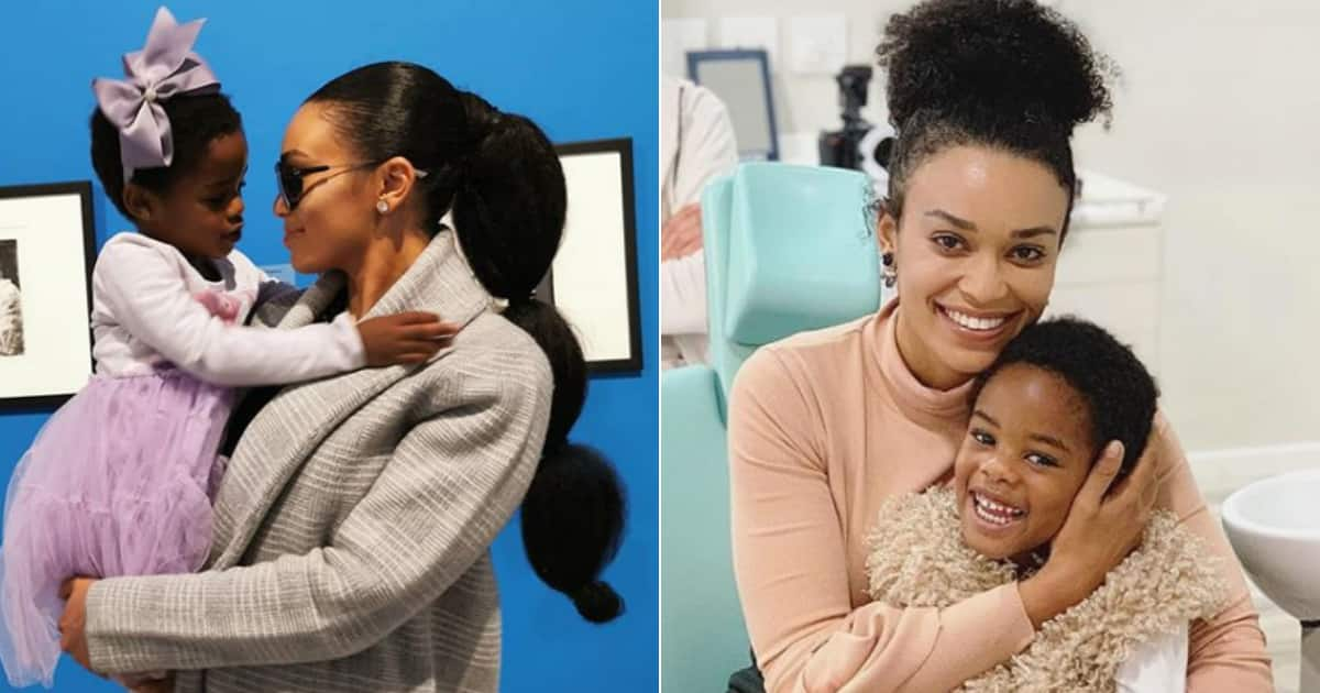 Pearl Thusi on adopting: She'll let Okuhle tell her story one day - Briefly.co.za