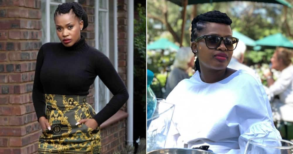 Zenande Mfenyana confirms giving birth to bouncing baby girl
