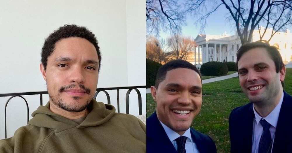 Trevor Noah pens note to friend who helped him live American dream