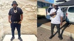 DJ Maphorisa makes it rain money in Dubai, video trends on social media