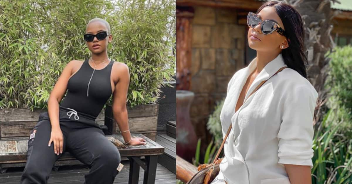 Mihlali Ndamase candidly opens up about her black tax responsibilities - Briefly.co.za
