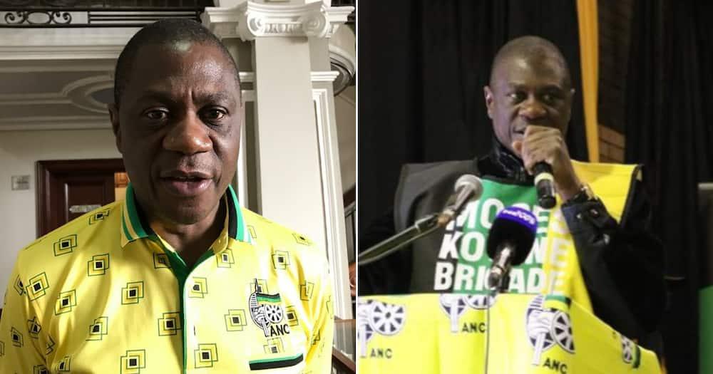 ANC Treasurer General Paul Mashatile, campaign, money, church, social media