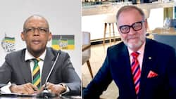 Pule Mabe wants to see evidence of work done by fired ANC staffer Carl Niehaus, SA weighs in