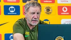 Kaizer Chiefs coach Stuart Baxter painfully reacts to shocking Royal AM loss